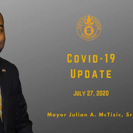 Mayor Addresses COVID-19 Concerns