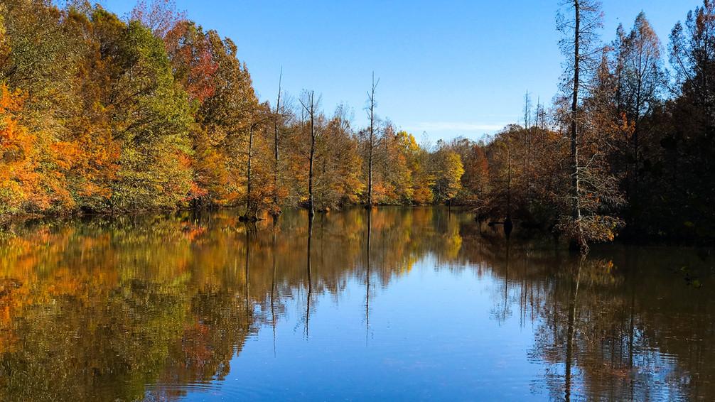 Autumn at Sand Beach Lake