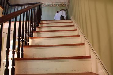 Photo of stair way at the Pillars