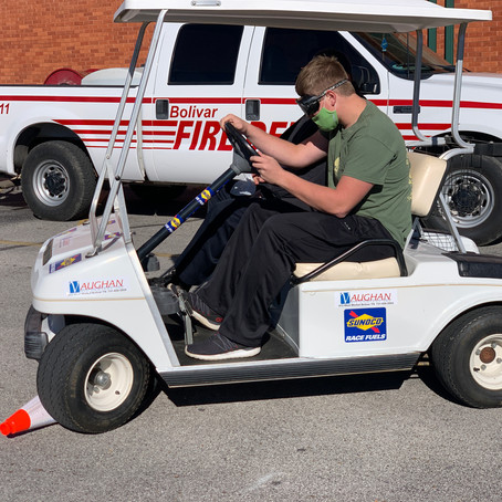 Bolivar Fire & Police Departments Team Up for Teen Driver Safety