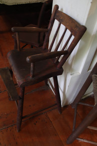 Photo of antique high chair