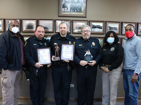 Bolivar Police Department Receives Awards