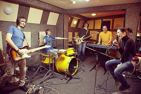 Sesión de grabación