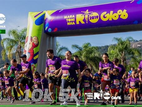 Maratona do Rio abre inscrições para corridas de 5k, 10k e Maratoninha Gloob