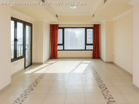 Stunning & beautiful 1 bedroom apartment for rent in #PortoArabia, The Pearl for 12,500 Qar/Mont