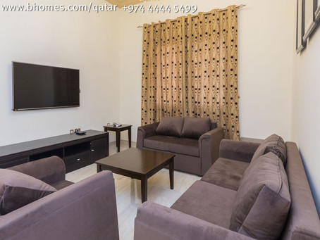Beautiful & Elegant 3 Bedroom Apartment in Bin Mahmoud for 9000 Qar/Month. To know more call 444