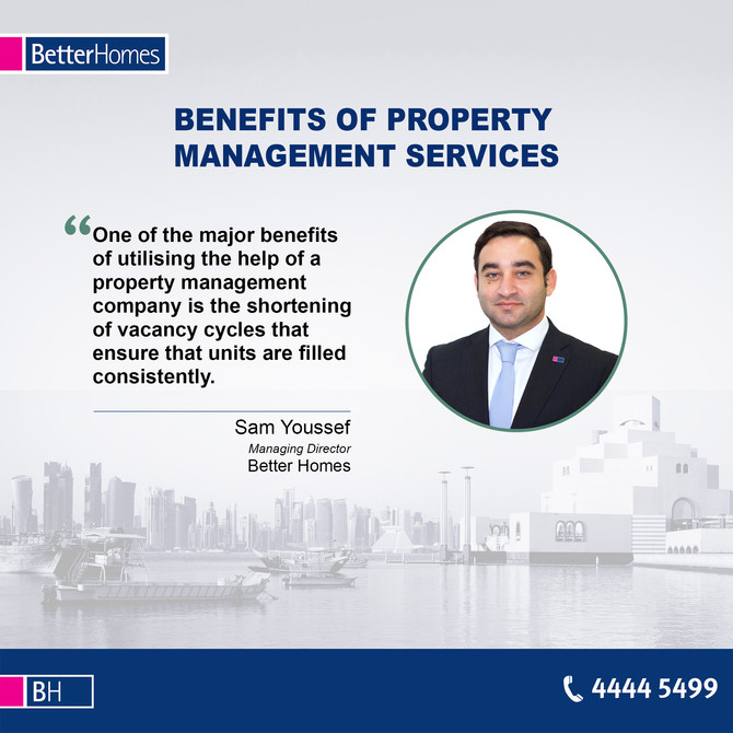 Sign up with Better Homes this Ramadan and get free Property Management Services. To know more call