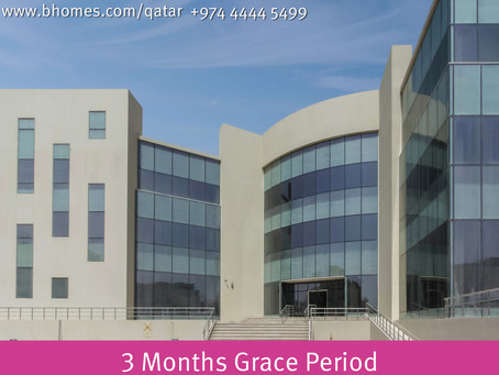 Rent office space in one of the prime locations of Doha. New reduced price of 100 Qar/Sqm with 3 Mon