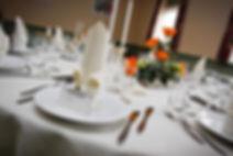 Sdr. Rind forsamlingshus borddækning