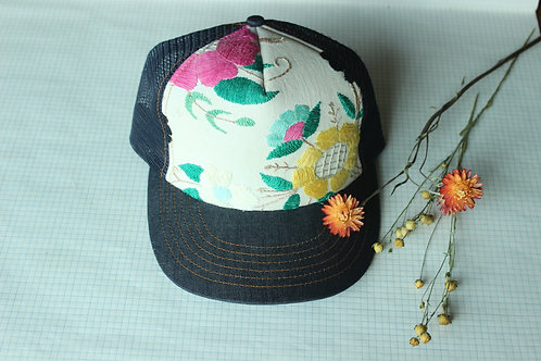 Bright Floral Shirley Hat