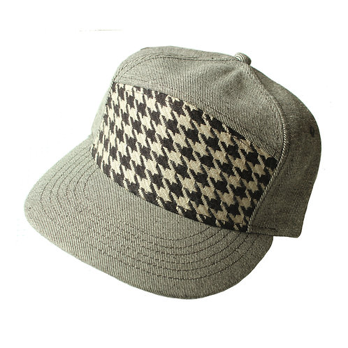Houndstooth Jimmy Hat
