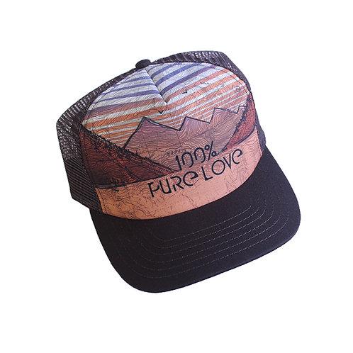 100% Pure Love Trucker
