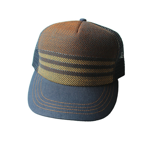 Stanley Hat, One of a kind, Handwoven Design
