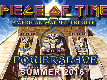 Piece of Time plays the entire Powerslave album this summer