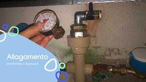 Richiesto intervento notturna per rottura collettore impianto adduzione acqua a Sassuolo.