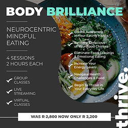 Workshop - Neurocentric Mindful Eating#2