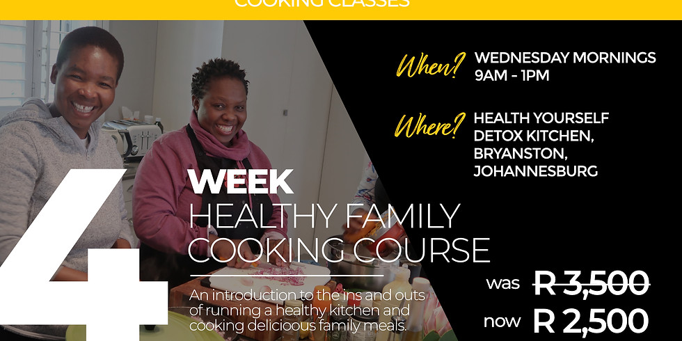 4 Week Ketogenic Cooking Course
