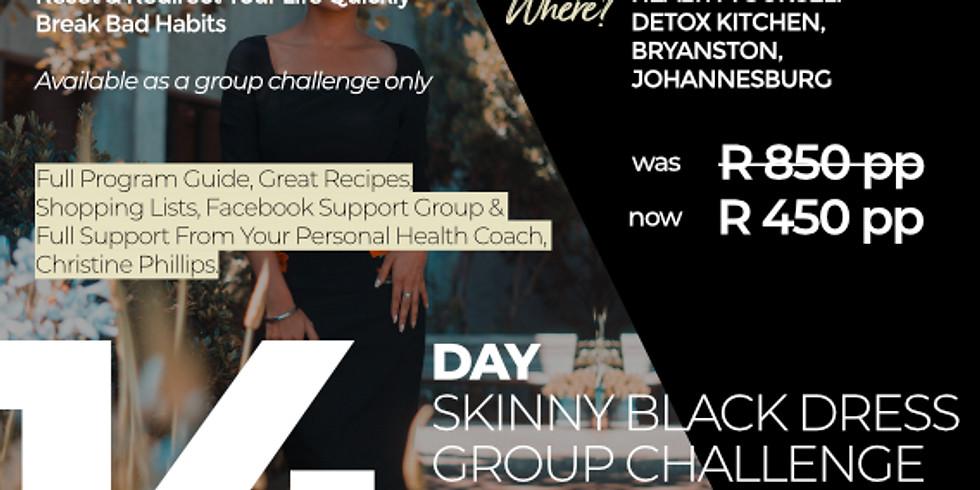 """2-Week """"Skinny Black Dress Challenge"""" Winter Group"""