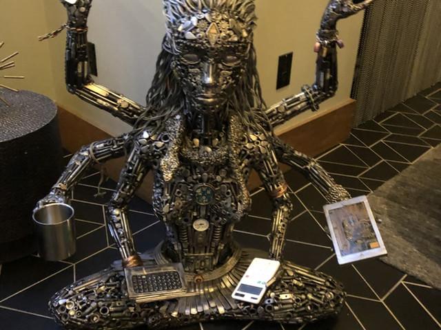 Lady Tech Buddha Viceroy Hotel San Francisco