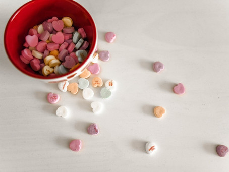 What Conversation Hearts Tell us About Falling in Love with our Customers