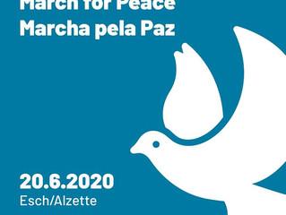 🎵 #76 Marche pour la Paix @ Esch-sur-Alzette (LU)