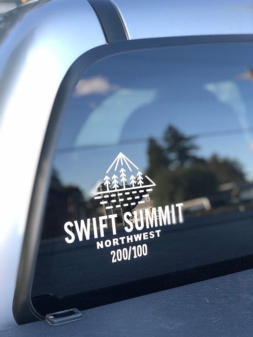 Swift Summit Vinyl Transfer Sticker