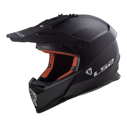 LS2 MX437 FAST HELMET - MATTE BLACK