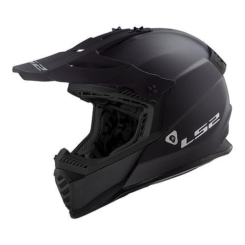 LS2 MX437 FAST EVO - MATTE BLACK