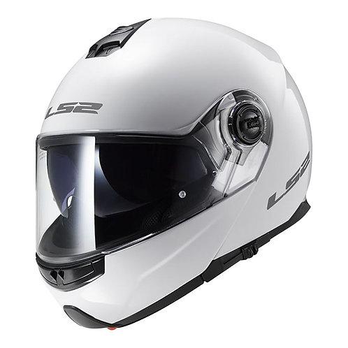 LS2 FF325 STROBE HELMET - GLOSS WHITE