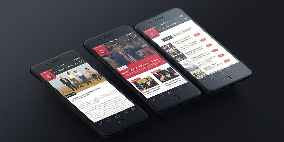 Nouveau Monde Magazine mobile - App pas
