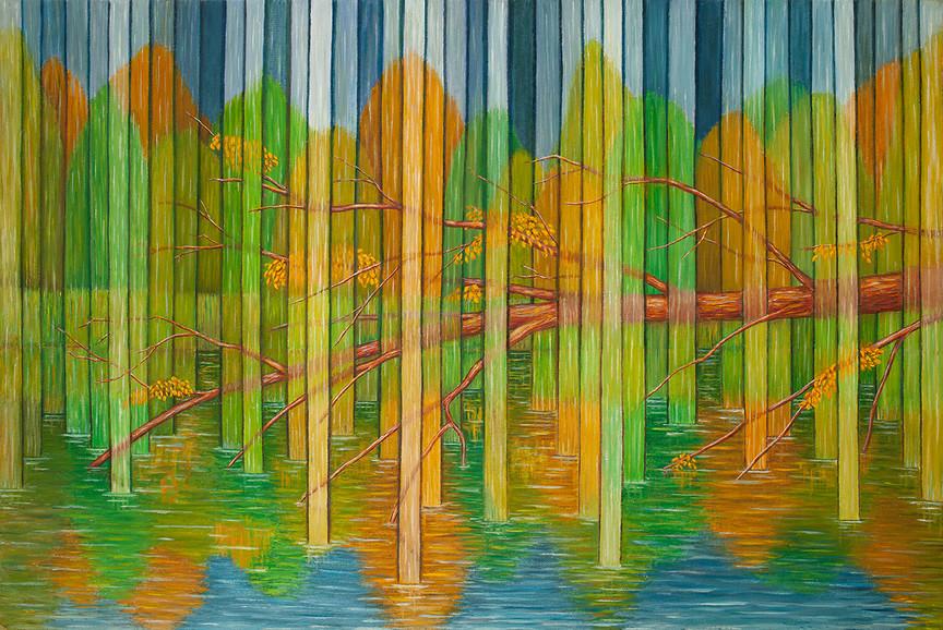 Осенний дождь. Селигер /The  Autumn Rain. Lake Seliger