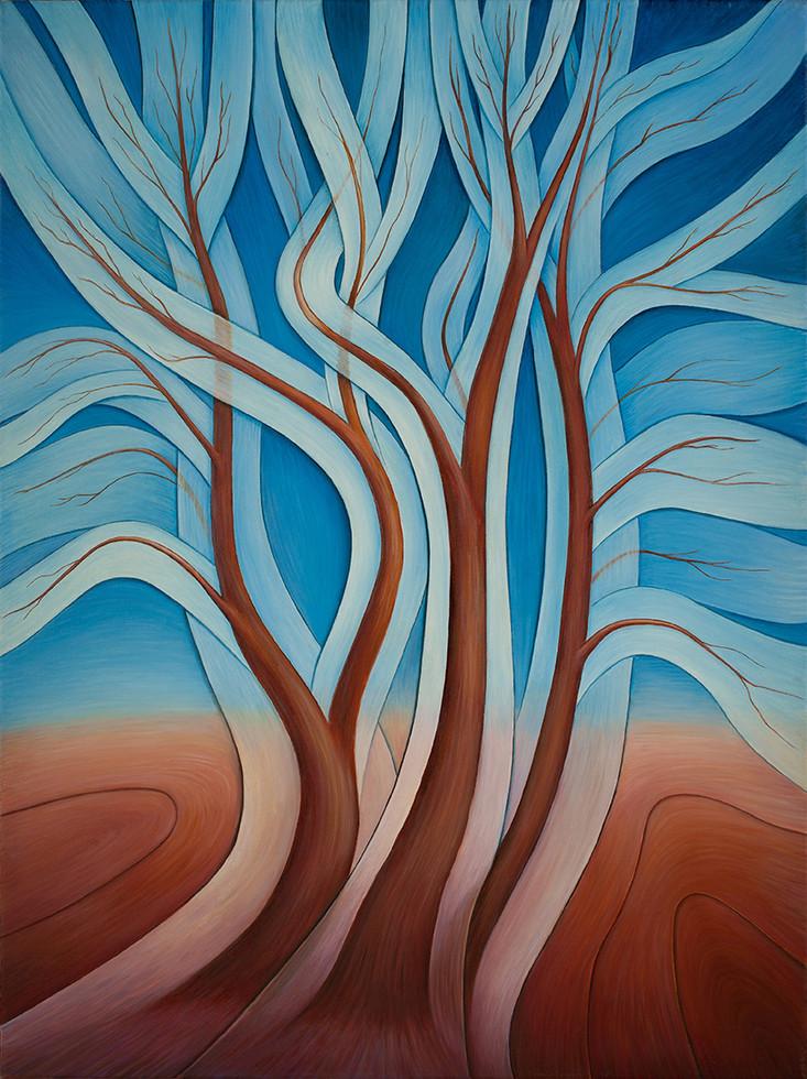 "Серия ""Деревья"" №4/ ""The Trees"" Series. №4"