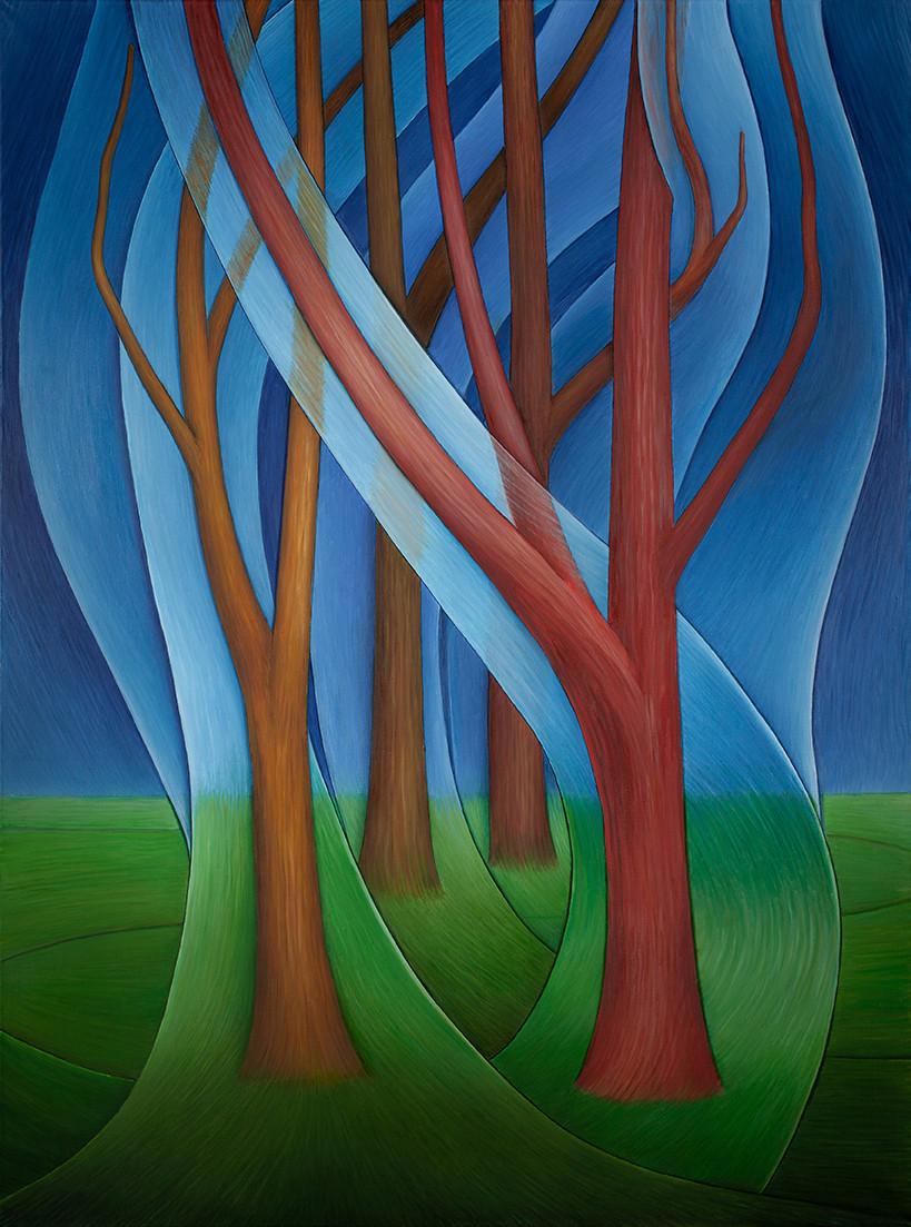 "Серия ""Деревья"" №10/ ""The Trees"" Series. №10"