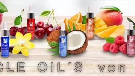 Nagelhaut Pflegeöle in verschiedene Duftnoten