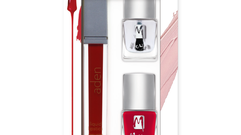 Beauty Set Nr.05 - Lippenstift, Nagellack und Abschlusslack