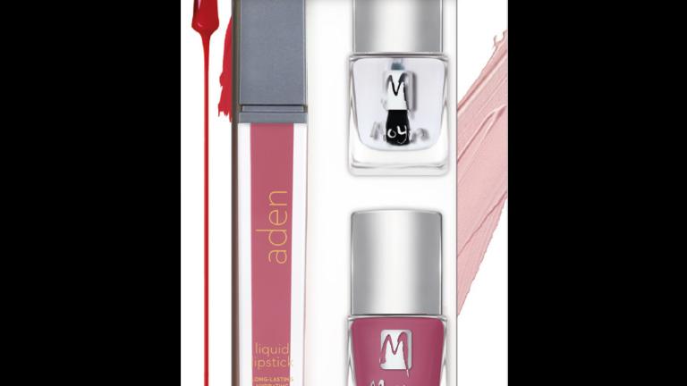 Beauty Set Nr.06 - Lippenstift, Nagellack und Abschlusslack