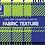 Thumbnail: Moyra Stamping Schablone - Fabric Texture Nr.2