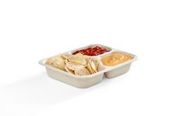 EG-S010-3C FOOD 3-Compartment Rectangula