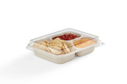 EG-S010-3C LID FOOD 3-Compartment Rectan