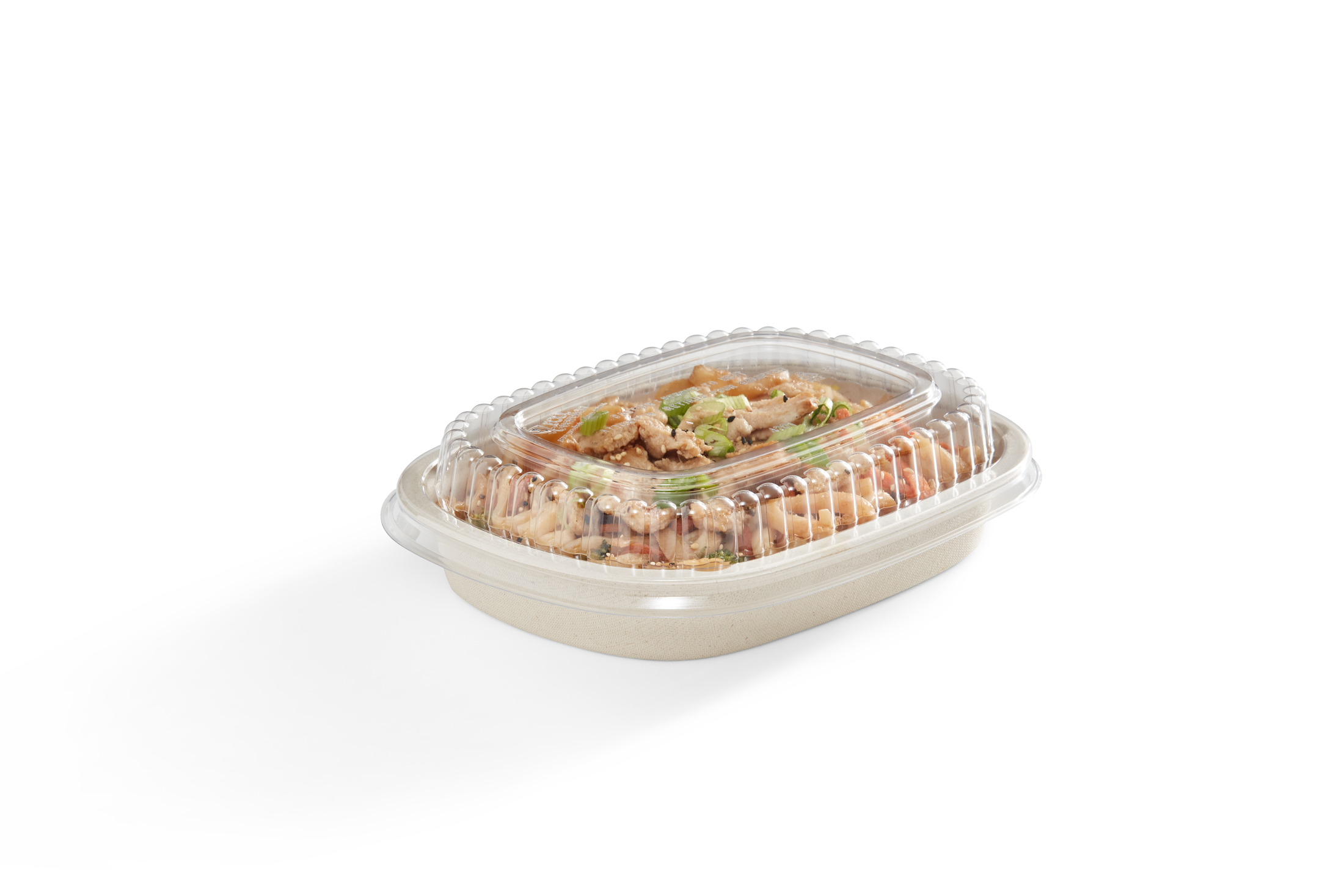 EG-BG-S022-LID-FOOD 22 oz Oval Tray