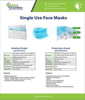 2020_M0102_PPE Face Masks Single Use Lev