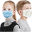 Thumbnail: 3-ply Children's Protective Disposable Face Mask. Case of 2,500.