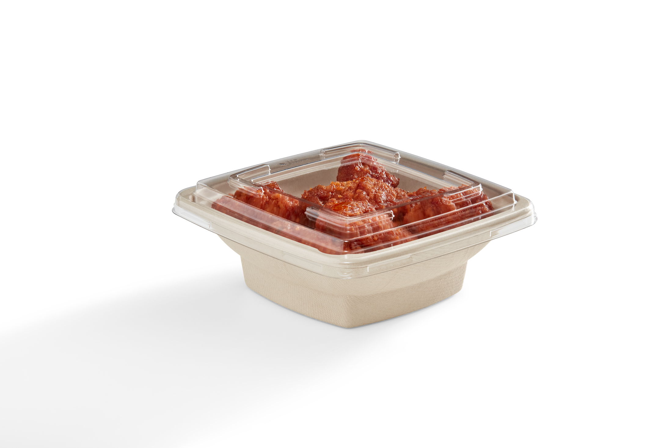 EG-S119-R1 LID Lid for 28 oz Square Tray