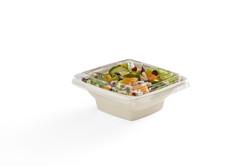 EG-S118-R1 LID FOOD 16 oz Square Tray Ba