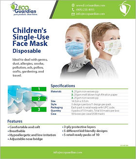 2020-M0129EN Kids Mask SellSheet_ENGLISH