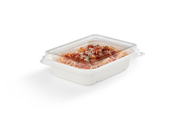 EG-N-S004 LID FOOD 32oz Rectangular Tray