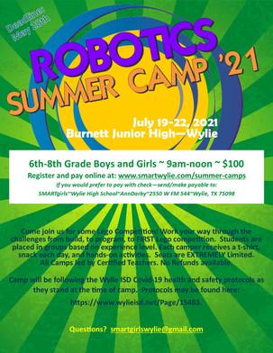 2021 Robotics Camp