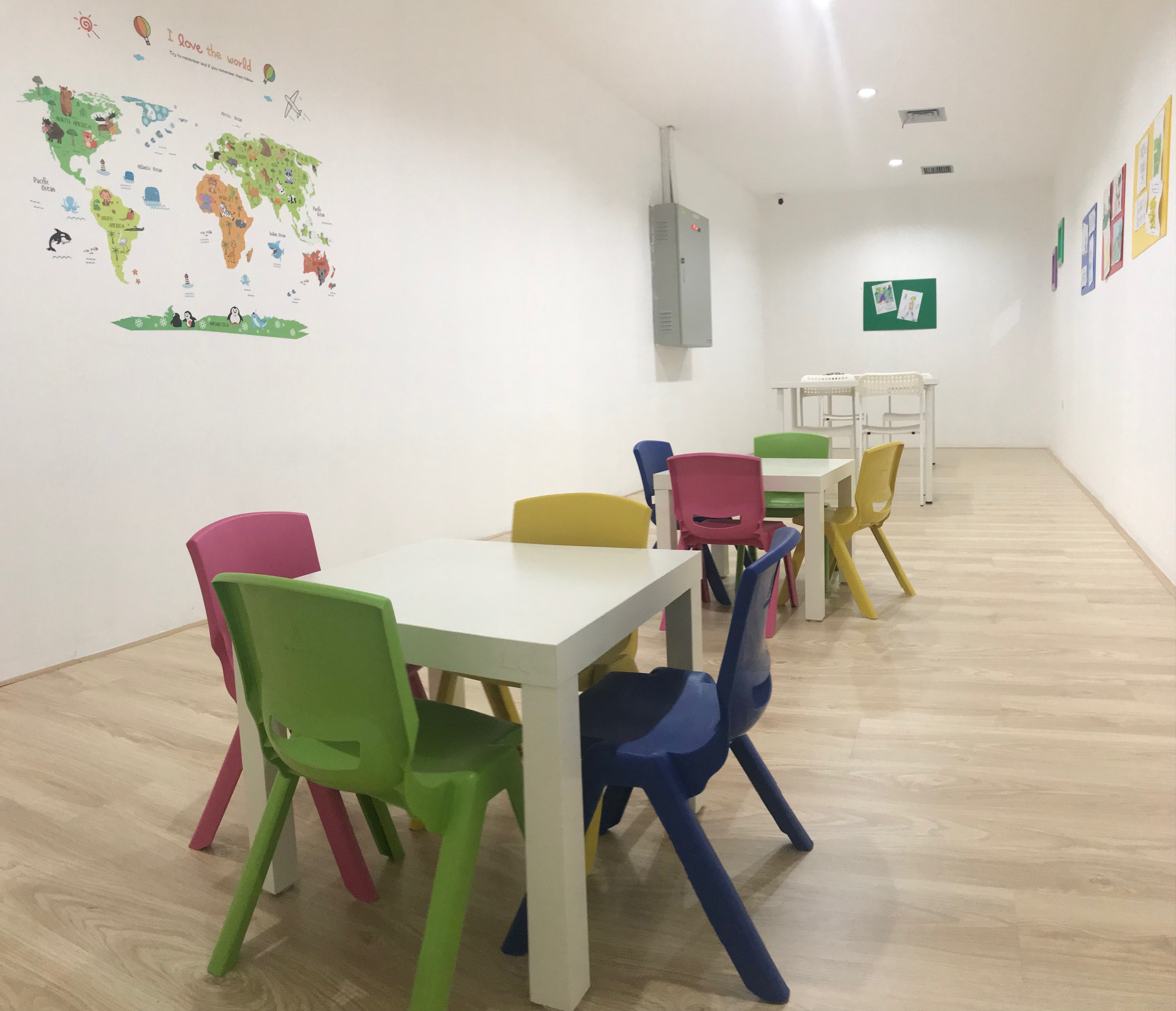 Tutoring Class & Montessori Room
