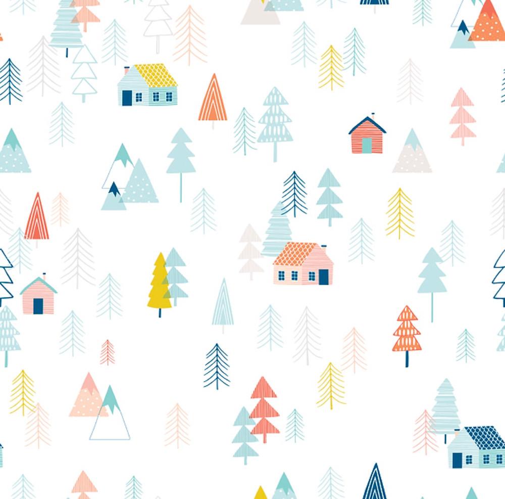 toddler room wallpaper
