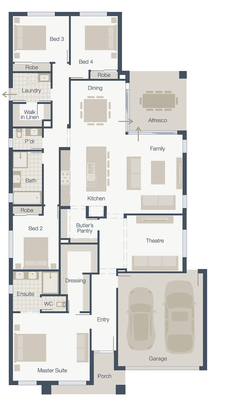 Mainvue Floorplan